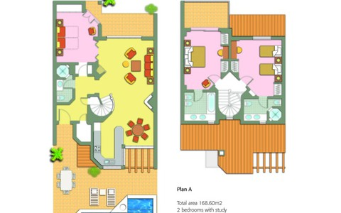 Two Bedroom Villa with Pool - image #2